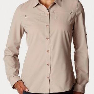 REI Co-op Sahara Long Sleeve Shirt Hiking Travel Outdoor